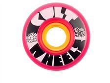 Cult Est's longboard/skateboard Wheel Set 62 mm 80 A Rose Pink