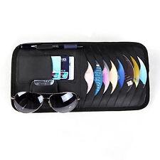 CD / DVD Dics Sunglass Card Storage Organiser Holder Case Wallet Auto Car Visor