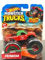 Hot Wheels SRIRACHA Monster Trucks 22/50 NEW 2019 Die Cast 1:64 Scale