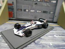 F1 BRABHAM BMW BT52 Monaco GP 1983 #5 Piquet Parmalat Spark 1:43