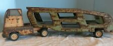 Vintage  GREEN Tonka Motor Transporter Car Carrier Truck Pressed Steel PARTS