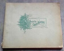 Heart of the Green Mountains by Rutland Railroad Co 1897 1st Ed attached map