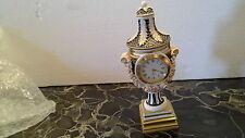 Miniature objet de vitrine Cartel  XVIIIe Horloge Pendule bronze XII
