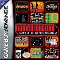 Namco Museum 50th Anniversary - Nintendo Game Boy Advance