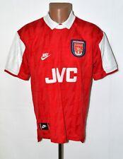 ARSENAL 1995/1996 HOME FOOTBALL SHIRT JERSEY NIKE SIZE M ADULT