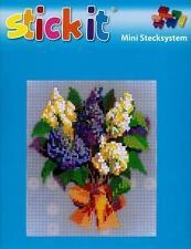 Ministeck-Sets für Kinder mit Blumen- & Frucht Kreativset