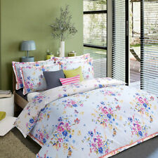Duvet/Quilt Cover with Pillow Case Bedding Set Floral Bloom, Double