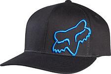 Fox Racing Mens Guys Flex 45 Hat Fox Head Logo Ball Cap Flexfit MX/ATV/BMX/MTB