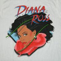 New Diana Ross Single Concert White For Men S-234XL T-shirt F875