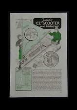 6' Iceboat Ice Boat Scooter 1942 HowTo Build PLANS Childs