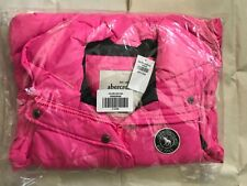 NEW ABERCROMBIE KIDS GIRLS PUFFER VEST JACKET PINK, XL