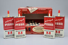 Lot of 4 PYROIL Polarized Multipurpose M Lubricants with Box