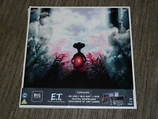 "ET The Extra Terrestrial BIG SLEEVE 12"" EDITION 4K UHD BLURAY NEW SEALED Art DVD"