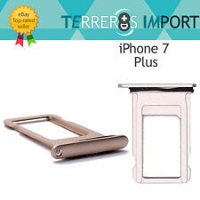 Bandeja Sim Portasim Tray para iPhone 7 Plus Dorado Gold