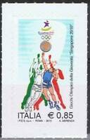 # ITALIA ITALY - 2010 - Youth Olympic Games Sport Basket - Stamp MNH