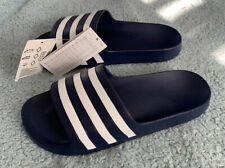 Mens Navy Blue Adidas Adilette Sliders - Slides - Size 7 - BNWT
