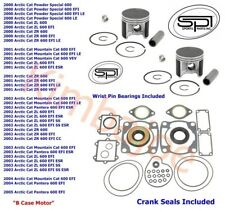 2000-2005 Arctic Cat 600 ZR ZL 78 mm STD Bore SPI Pistons Bearings Gaskets Seals