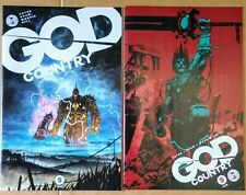 GOD COUNTRY #5 NM/NM+ Cover A & B Image 2017 Donny Cates Movie Red Hot Low Price