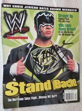WWE Shane Helms AKA The Hurricane Signed WWE Magazine Auto