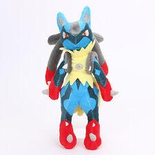 "New Pokemon XY Mega Lucario Plush Doll Rucario Soft Stuffed Toys Teddy 10"" UK"