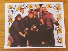 ZAC BROWN BAND SIGNED AUTOGRAPHED PICTURE RP 8 1/2 X 11 AUTOGRAPH