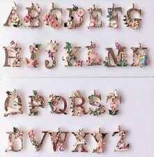 26 Alphabet Letters set-1 loop colorful enamel letter charms