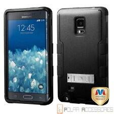 Natural Black TUFF Hybrid Stand Case Cover For SAMSUNG Galaxy Note Edge/N915T