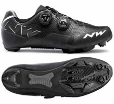 MTB Cycling Shoes Northwave mod. 'Rebel', col. Black/White; Brand New