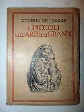 Cerquiglini I Piccoli nell'arte dei Grandi 1937 Aleardo Terzi xilografie Collodi