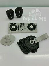 Edible DJ decks, speakers, headphones & plaque personalised