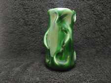 SylvaC 4631 Green Art Deco Vase