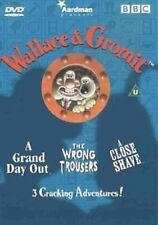 Wallace & Gromit, 'A Grand Day Out', The 'Wrong Trousers' & 'A Close Shave' DVD