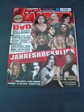 Metal Hammer 1/2008 DIMMU BORGIR AMON AMARTH MANOWAR AT THE GATES