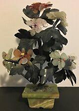 VINTAGE JADE FLOWER BONSAI TREE #2
