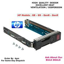 "HP 651314-001 SAS SATA LFF 3.5"" Hot-Swap Hard Drive Tray Caddy G8 G9 GEN8 GEN9"