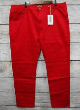 Parish Nation Jeans Mens Size 36X34 Red Bull Denim Skinny Jeans New