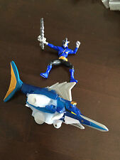 Power rangers Samurai shark zord and action figure