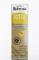 Redmond Trading Company Earthpaste Toothpaste - Lemon Twist - 4 oz Tube