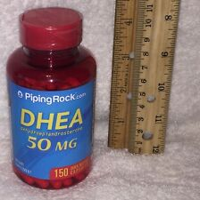 D H E A from Piping Rock.  *** 150 ***  capsules. 50 mg each.