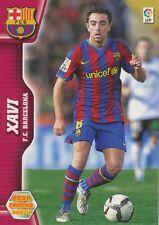 N°065 XAVI # FC.BARCELONA CARD PANINI MEGA CRACKS LIGA 2011
