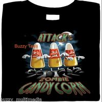 Attack Of The Zombie Candy Corn, Halloween Shirt, funny, tee, halloween party