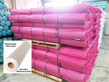 Clear Poly Film - Builders Film - Plastic sheeting - 2m wide - 50m per roll