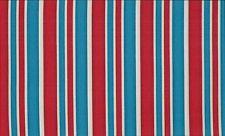 London by Makower Striped Fabric 100% Cotton  FQ 50cm x 55cm