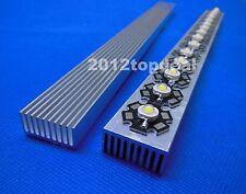 High Power Led Aluminum Heatsink 300mm25mm12mm For 1w3w5w Led Chip Diy