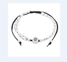Fußkette Schmuck Fußbändchen Schwarz Perlen  verstellbar  NEU 107A