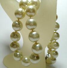 Geknotet (12,0 mm Ø) Süßwasser Perlen Perlenkette Süßwasserperlen Kette 42 cm