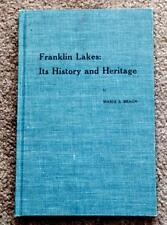 RARE 1965 1ST ED. HISTORY FRANKLIN LAKES NEW JERSEY NJ VINTAGE PHOTOGRAPHS