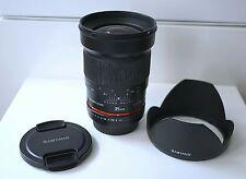 Samyang 35mm f1.4 Canon mount - obiettivo lens 35/1.4
