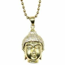 Silver Plated CZ Chain Costume Necklaces & Pendants