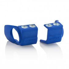 Acerbis Mx Inferior Cubierta De Zapatos De Horquilla (Par) - YZ125/250 YZF250/450 WR125/250 - Azul